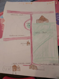 Excellent map work by Nevaeh