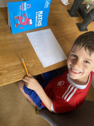 A very keen and smiling mathematician
