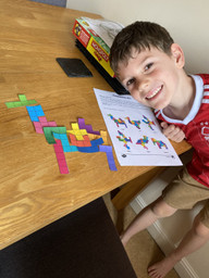 What a lovely Pentomino picture!
