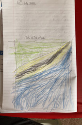 The Tanzanian flag by Catherine