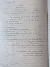Amazing writing work by Layla