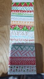 A lovely Aztec bookmark by George