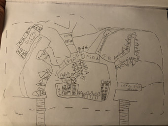 Great map work by Sophie