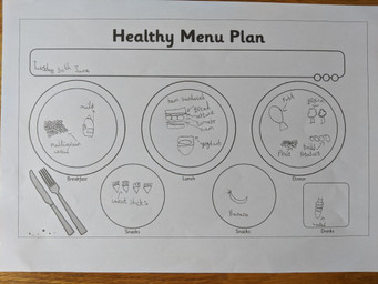 Layla's healthy meal plan