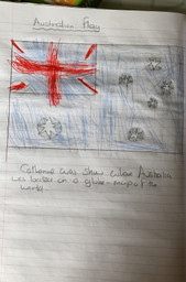 An amazing Australian flag by Catherine