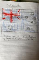 An amazing Australian flag by Catherine