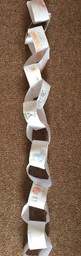 Catherine's thankful paper chain