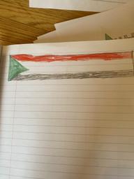 Sudan flag by Rhys