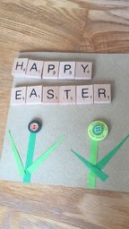 A lovely Easter card from Rhys