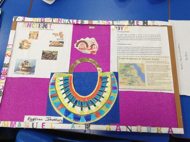 Amazing homework by the Nightingales Class!