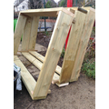 new frames for our raised beds. Funded by the PTFA