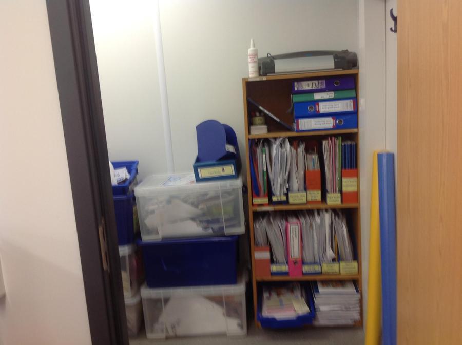 Mrs Kirby's cupboard!