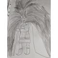 Theo's viking character.