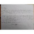 Ben has written a great diary entry.