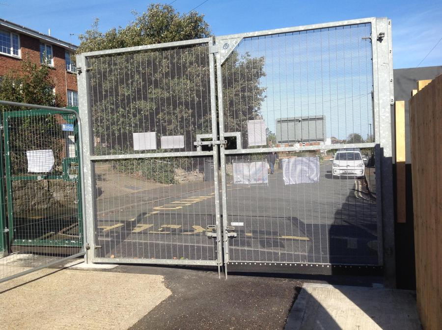 winton street gate for only selected pupils contacted by Mrs Shaer