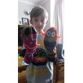 Ben's sock puppets