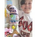 Theo's sock puppet
