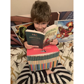 Carter has worked incredibly hard with his reading