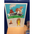 Travel to the Stone Age poster by Nelia