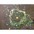 Art inspired by Tim Pugh and Andy Goldsworthy