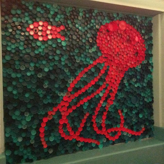 Our 'Under the Sea' bottle art