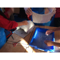 Using 'Plaster of Paris' to make the frame