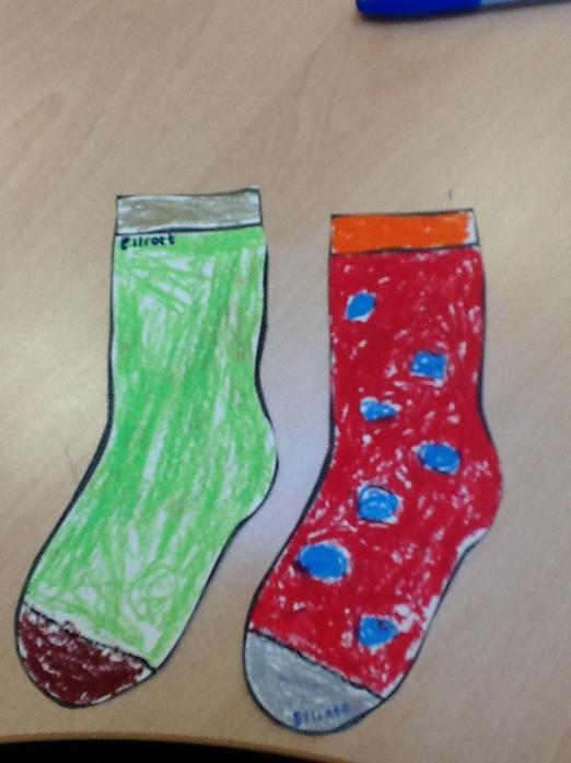 Elliott's Odd Socks