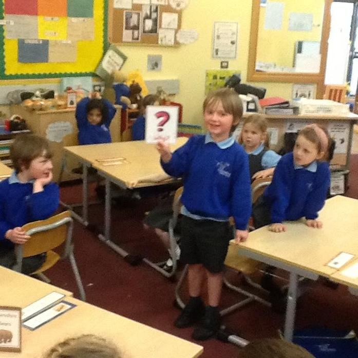 Hot seating - asking questions