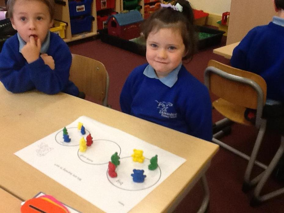 Sorting for size using maths language