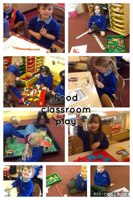 Play during our Food topic