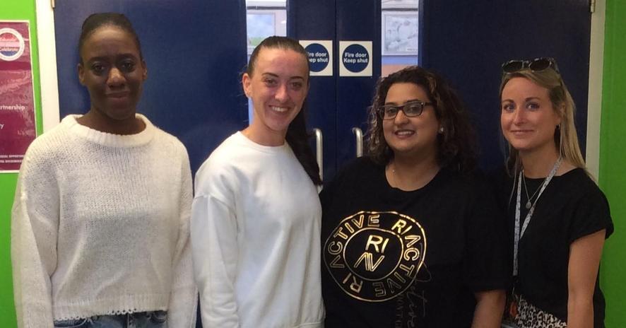 Ms Williams, Ms Higgins, Ms Rathod & Ms McLeod