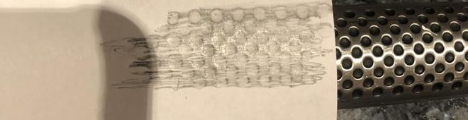 Rubbing of Knife Handle