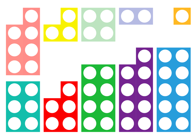 At school we call these Numicon Pieces