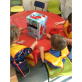 Painting our Post box