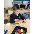 Repeating shape patterns