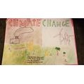 Melissa's climate change poster