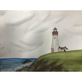 Year 6 Lighthouse - watercolour