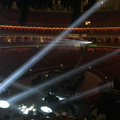 Lights up for first rehearsal