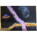UV painting- luminescent under ultraviolet light