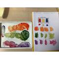 Art - mixing colours