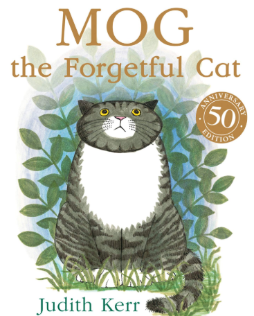 Our Focus story this week is 'Mog Forgetful Cat'