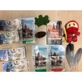 In Art we have been exploring assemblage by creating pictures with our holiday mementos.