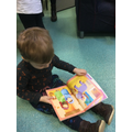 Reading books independently