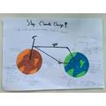 Hugo's climate change poster
