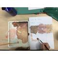Art - mixing skin tones