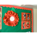Our Poppy Wreath for Remembrance Day