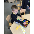 Repeating shape pattern