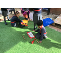 Music making during Continuous Provision time