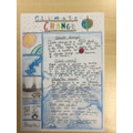 Climate change- changes over time