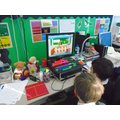 We played EducationCity maths games.